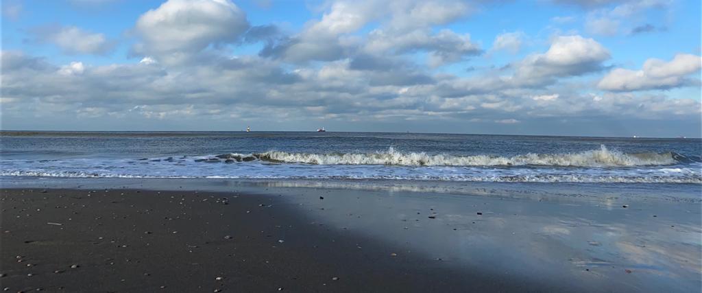 horizon over de zee, kijkduin